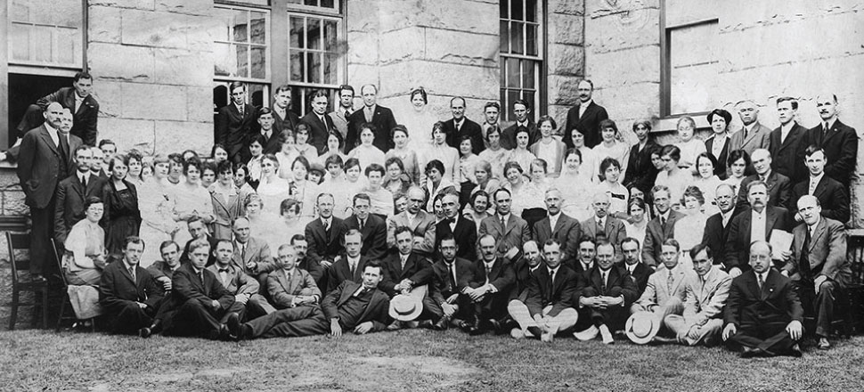 UBC's first graduating class, 1916